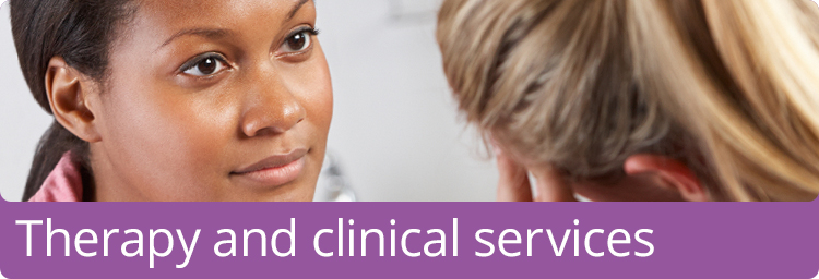 Therapy and clinical services